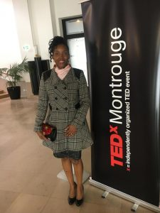 Dr. Mubenga at TEDx Montrouge
