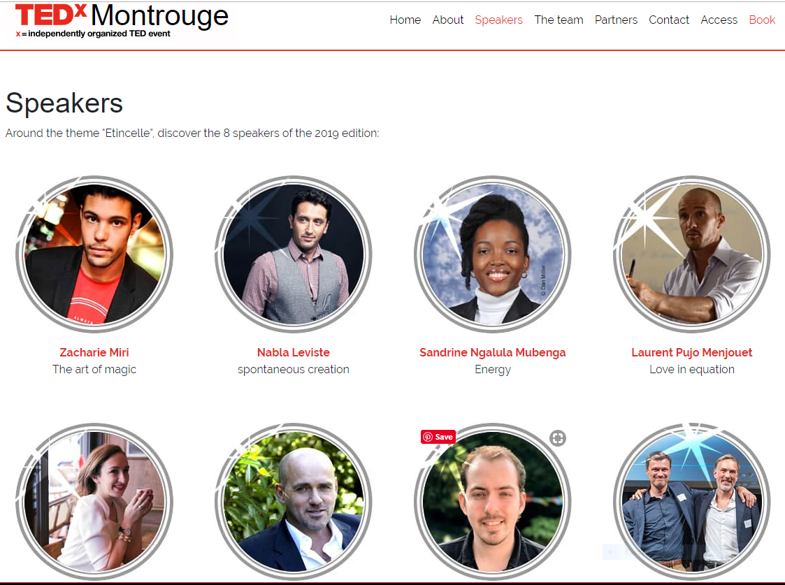 TEDx Montrouge Speakers